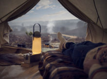 GuideLight per un camping di design