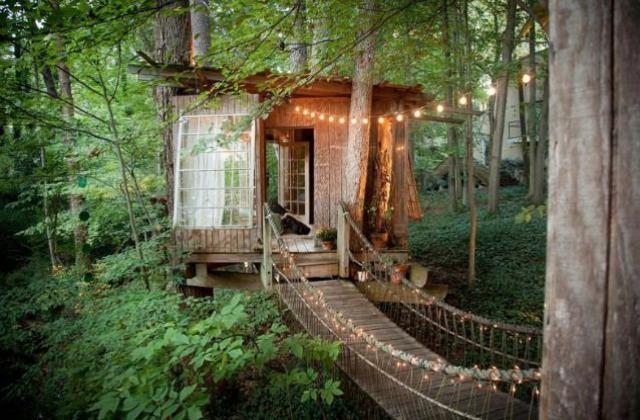 casa sull'albero in Georgia