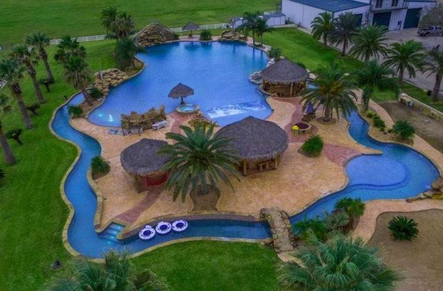 la piscina privata più grande del mondo