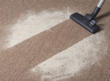 aspirare il tappeto