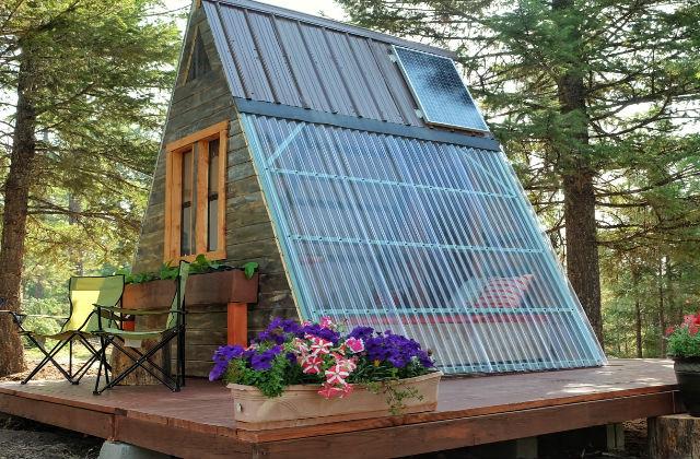 Una casa costruita con 600 euro in 3 settimane for Ottenere una casa costruita