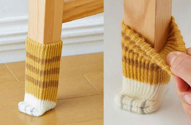 calze a zampa di gatto per sedia