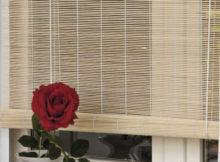 tenda di bambù