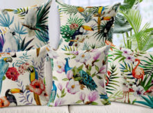 cuscino tropicale