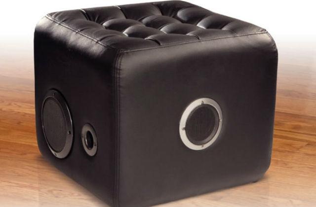 pouf stereo