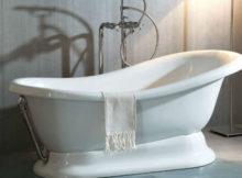 vasca da bagno in porcellana