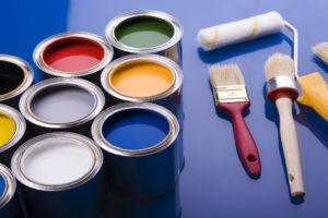 vernice per una stanza